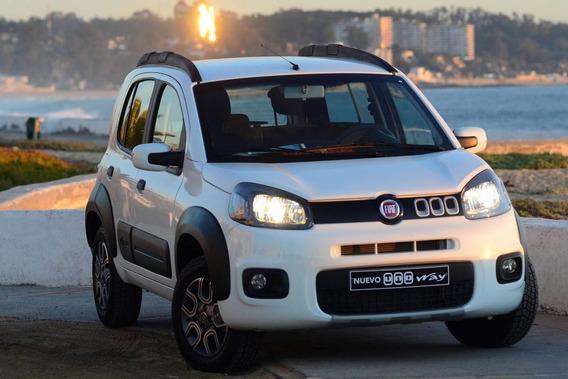 Fiat Uno Way 0km Anticipo $89.000 Cuotas 0% Interes A-