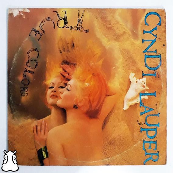 Lp Cyndi Lauper True Colors Disco De Vinil 1986 Com Encarte