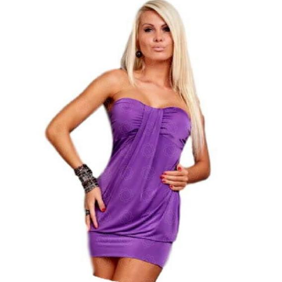 Mini Vestido Straples Con Taza Soft Natassja