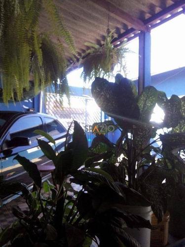 Imagem 1 de 10 de Casa Residencial À Venda, Jardim Guanabara, Rio Claro. - Ca0041