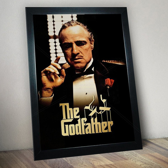 Quadro Decorativo O Poderoso Chefão The Godfather Lindo