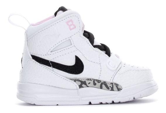 Tenis Jordan Legacy 312 Bebe Niña Fusion Retro Basket Origin