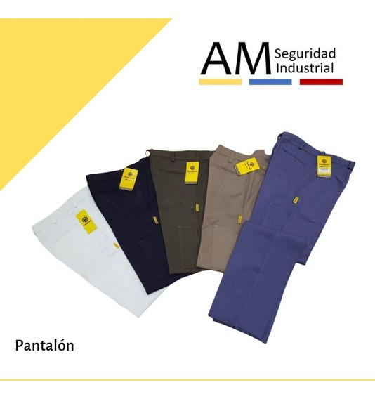 Pantalon Pampero Trabajo Clasico C/bolsillo Metro