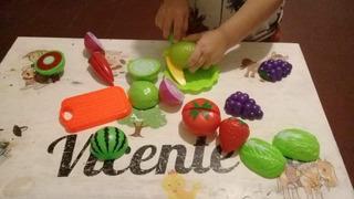 Juego Frutas Y Verduras Con Velcro En Mercado Libre Argentina