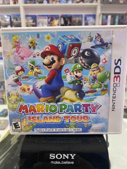 Mario Party Island Tour Nintendo 3ds Mídia Física