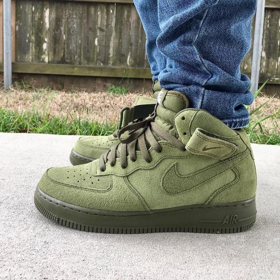 Zapatillas Nike Air Force 1 Mid Verde Talla 41 Nuevo adidas