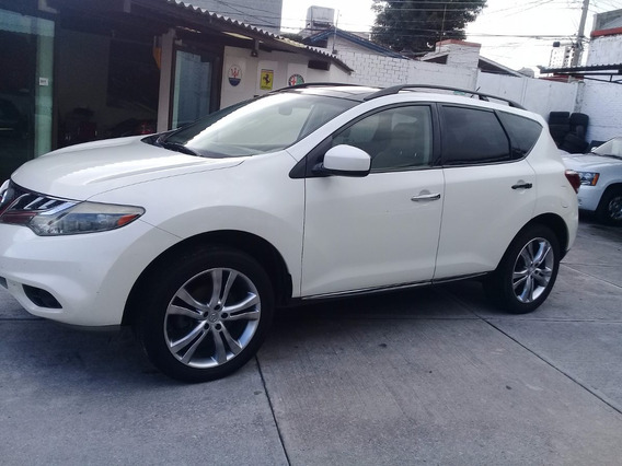 Nissan Murano Le V6 2011 Piel Panoramico Awd
