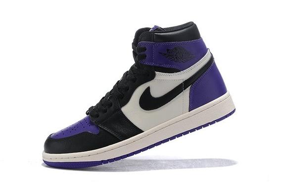 Zapatillas Nike Air Jordan 1 Índigo Y Blanco 39-45