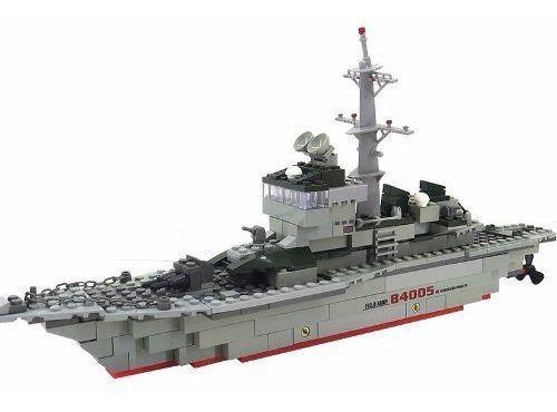 Bloco Montar Decool Lego Navio De Guerra Marinha Eua 228peça