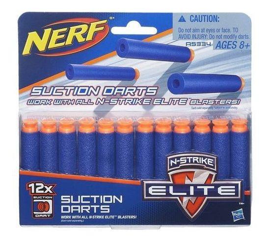 Nerf N-strike Elite Refil Sucção 12 Dardos - Hasbro