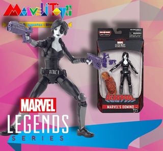Marvel Legends Domino Baf Sasquatch