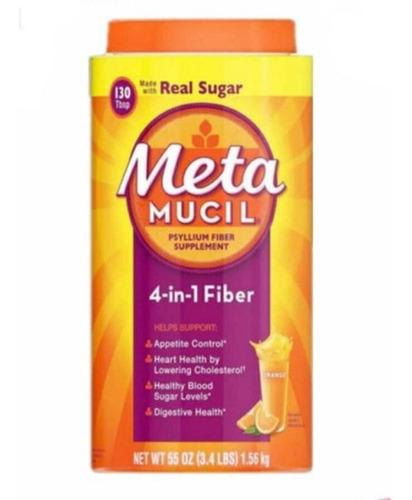 Imagen 1 de 2 de Enciclopedia De Metamucil  Real Sugar Y Sugar Free