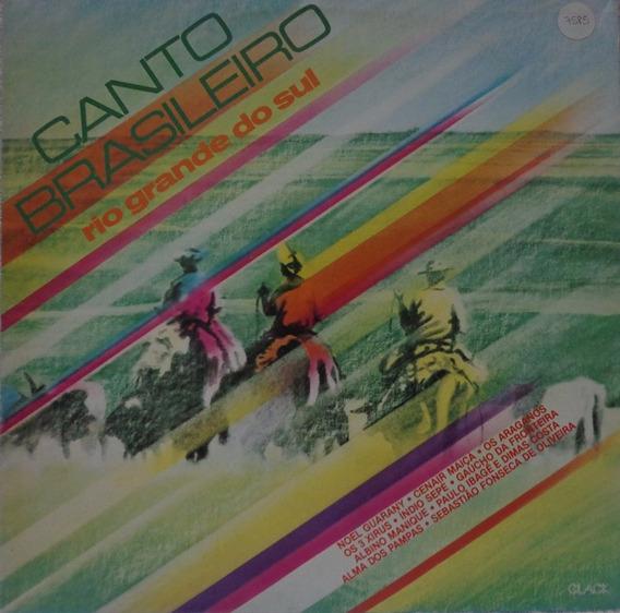 Lp Canto Brasileiro-rio Grande Do Sul-1981-clack
