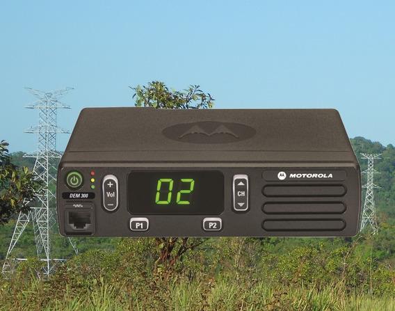 Rádio Motorola Dem300 Novo