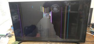 Tv Led Samsung Pantalla Rota Para Repuestos