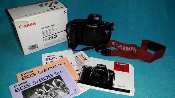 Câmera Fotográfica Analógica Canon Eos 5