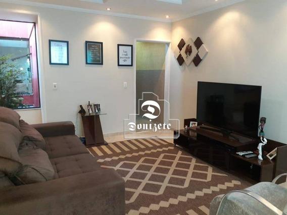 Sobrado Com 4 Dormitórios À Venda, 262 M² Por R$ 860.000,00 - Vila Alto De Santo André - Santo André/sp - So1583