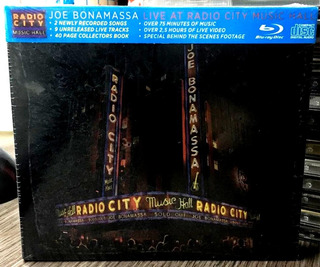 Joe Bonamassa - Live At Radio City Music Hall (2015) Blu-ray