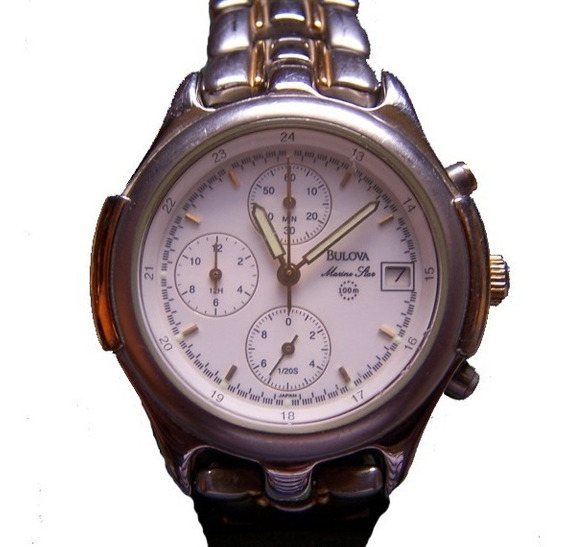 Relógio Bulova Marine Star Cronógrafo Mergulho 100 Metros