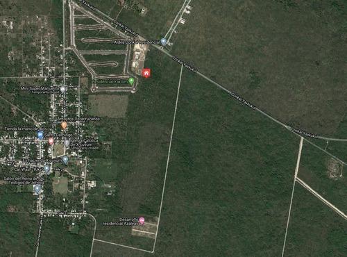 Magnificos Lotes De Inversion En Yaxkukul, Yucatan