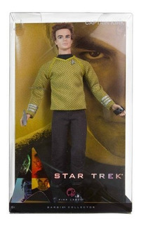 Ken De Barbie Como El Capitan Kirk Doll De Star Trek