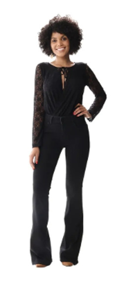 Calça Flare Jeans Feminina Sawary Ref. 255756