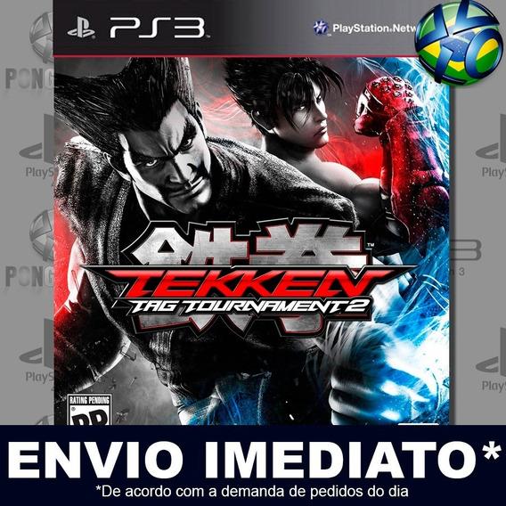 Tekken Tag Tournament 2 Ps3 Envio Digital Psn Promoção