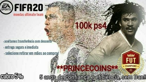 Fifa 20 Coins Ps4 Moedas 300.000 300k Coins Ultimate Team