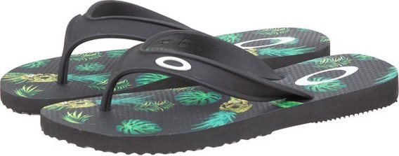 Chinelo Oakley Wave Point 3.0 10201br-01k