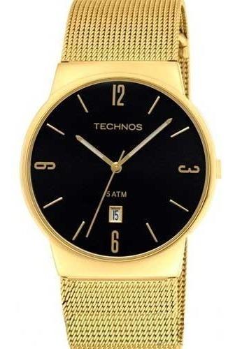 Relógio Technos Feminino Dourado - Gm10ih/4p Original