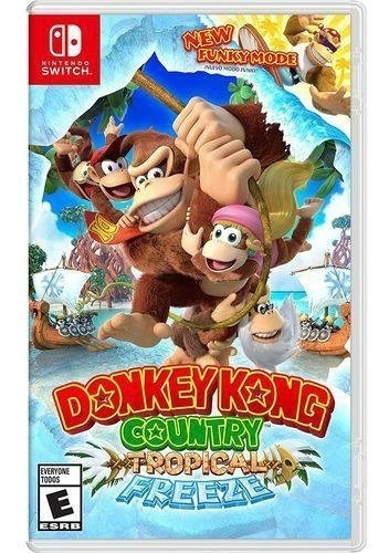Donkey Kong Country Tropical Freeze Switch Mídia Física Novo