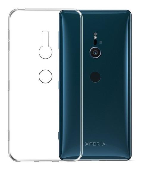 Funda Silicona Transparente Lolipop Clear Sony Xperia Xz2