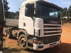 Scania G 400, Com Carreta