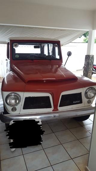 Ford Rural Willys 4 X 4 Original 1972