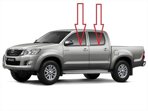 Cepillo Lame Vidrio De Puerta Toyota Hilux Kavak 2007-2015