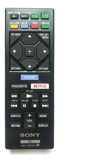 Control Para Blue Ray Sony Rmt-vb100u