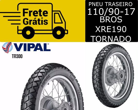 Pneu Bros Nxr150 110/90-17 Tr300 Traseiro Vipal