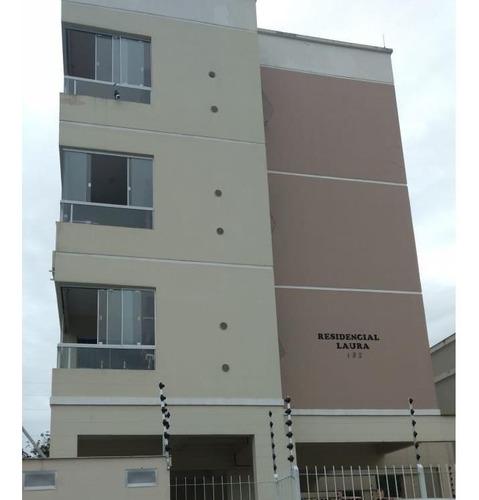 Imagem 1 de 14 de Belo Apartamento No Bairro Forquilinha Com Acabamento De Gesso. - Ap4334