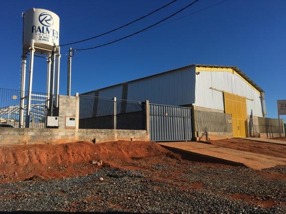 Alugo Galpão Industrial 580 M2 - Área 1000 M2 Anel Rod Leste