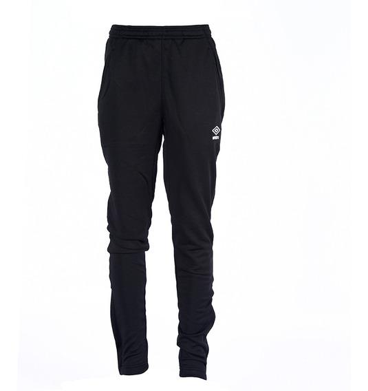 Pantalon Brand Tapered Knit Negro Kids Umbro Niño