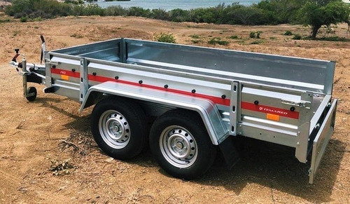 Trailer Temared Pro 3015 - 750 Kg 3.0 X 1.5 Mts S/ Frenos