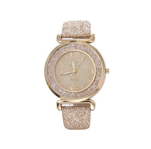 Relógio De Luxo Cristal