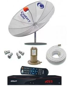 Parabólica Century Receptor Duomax Anal E Digital Multiponto