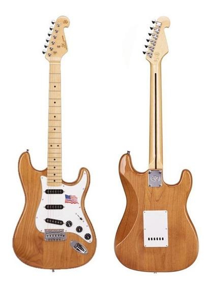 Guitarra Strato Sx American Alder Cor Natural - Sound Store
