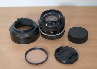 Nikon - Nikkor Ai-s 50mm F1,4 - Ideal Video Canon Sony Nikon
