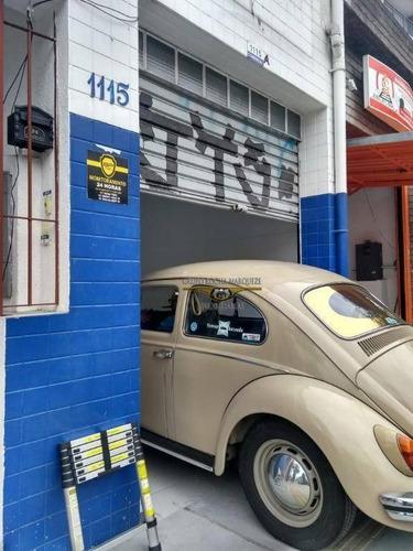 Salão Para Alugar, 100 M² Por R$ 2.700,00/mês - Mooca (zona Leste) - São Paulo/sp - Sl0217