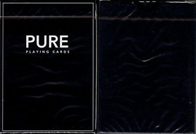 Baralho Pure Noc Black (house Of Playing Cards)