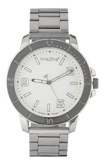 Reloj Nine2five Para Caballero Afw19u15slbls1 Plata
