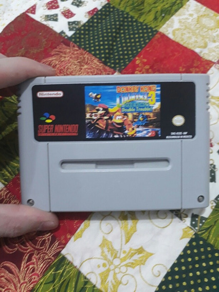 Fitas De Super Nintendo Donkey Kong Country 3
