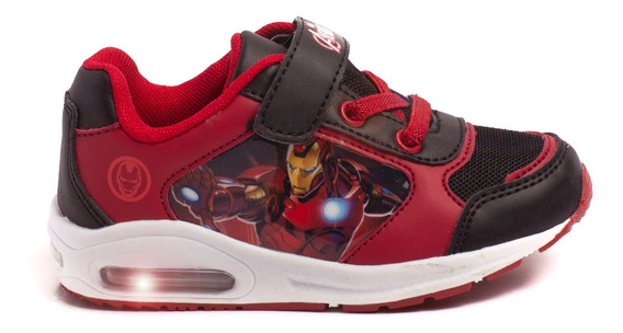 Zapatillas Atomik Marvel Thanos Ironman-mvl005neg- Open Spor